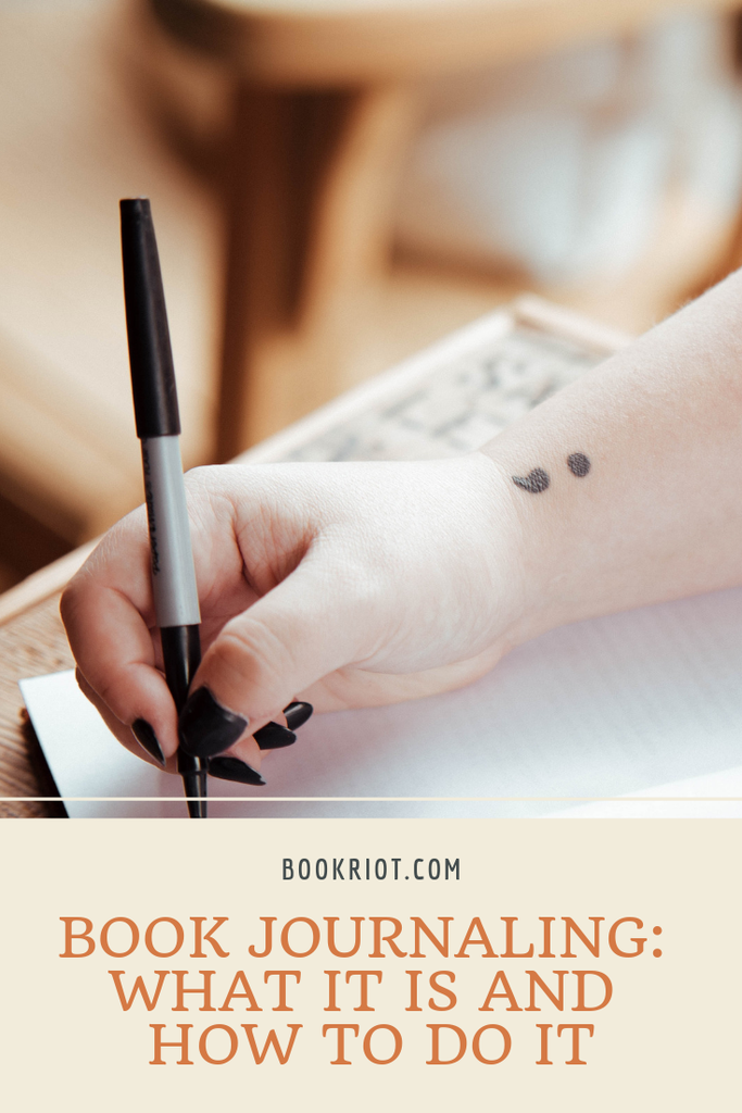 What is book journaling? We've got a guide to the art and craft of book journaling and why you might want to try it. journaling | book journaling | book habits | reading habits | reading tracking | commonplace books