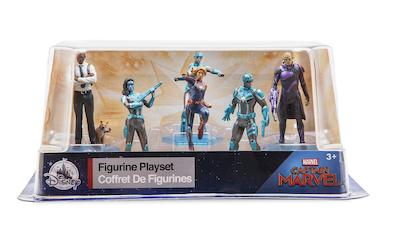 Captain Marvel figure set