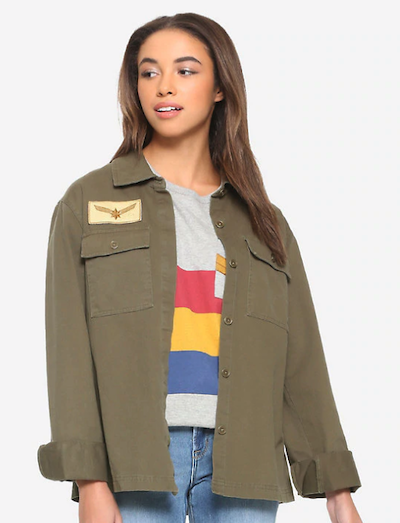Carol Danvers cargo jacket