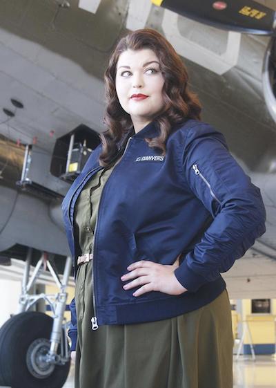 Carol Danvers flight jacket
