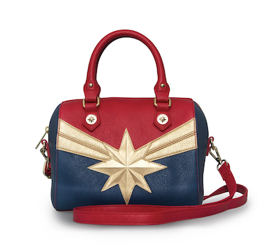 Captain Marvel dome purse bag from Loungefly