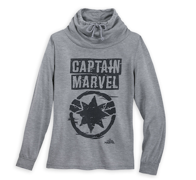 Grey Captain Marvel sweatshirt