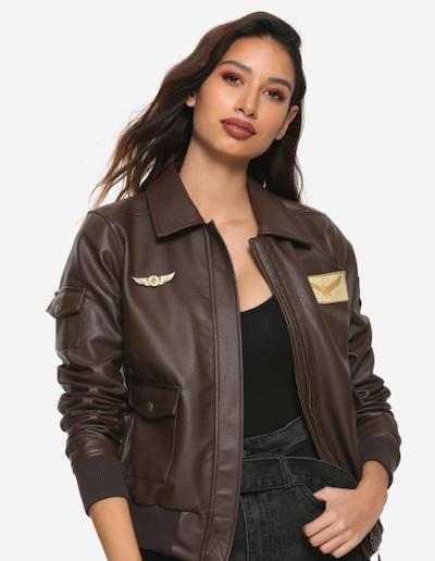 Carol Danvers bomber jacket from Her Universe