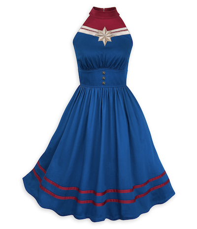 Captaiin Marvel Her Universe Disney Dress Shop Dress