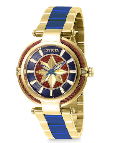 Captain Marvel watch by Invicta