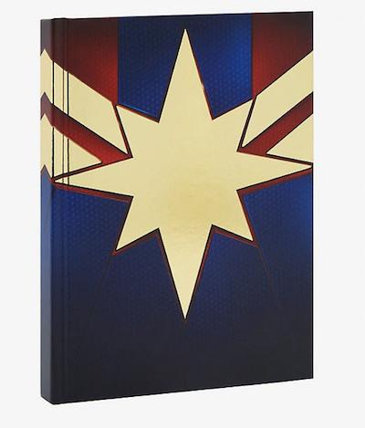 Captain Marvel symbol journal