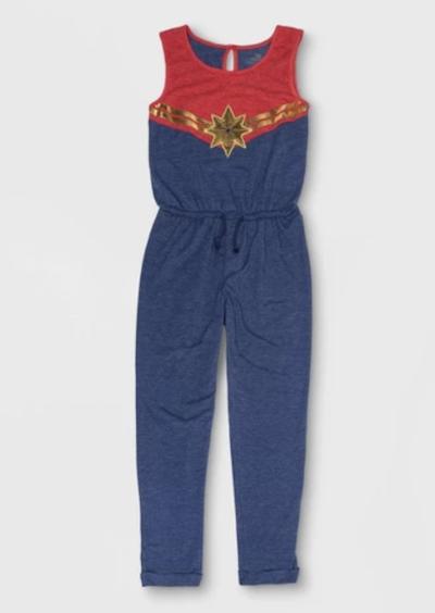 Captain Marvel jumpsuit for kids