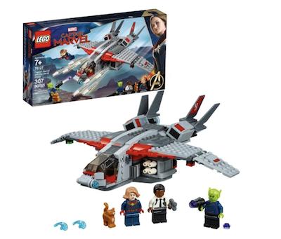 Lego skrull attack captain marvel set