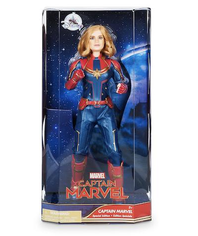Special edition captain marvel doll