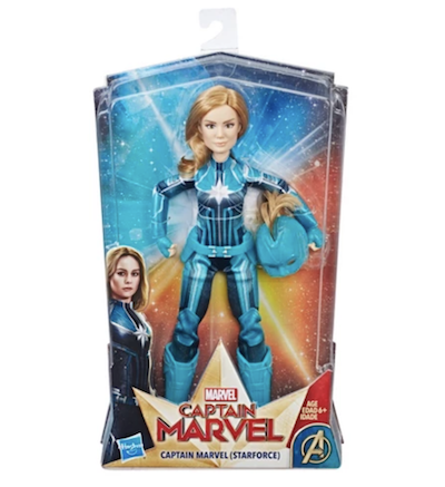 Carol Danvers Kree Starforce action figure doll
