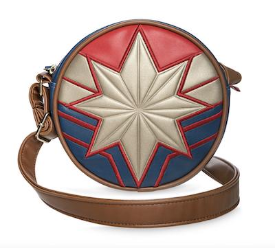 Small captain marvel crossbody bag purse