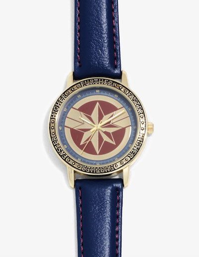 Captain Marvel Higher Further Faster watch
