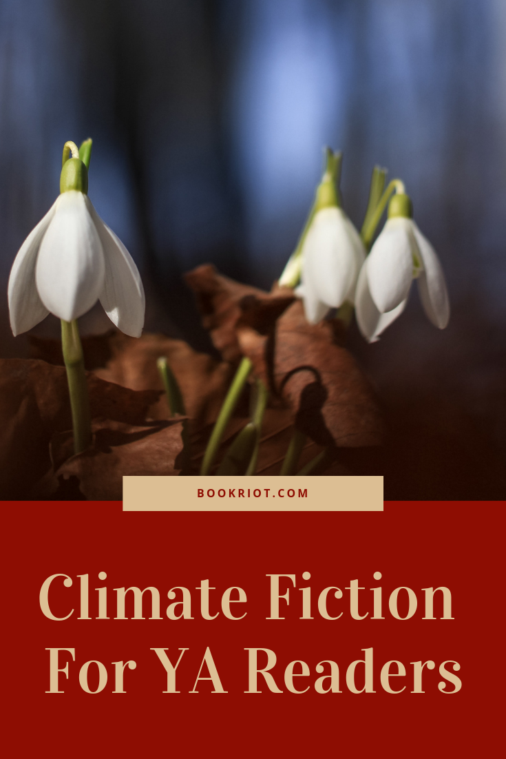Climate fiction for YA readers. climate fiction | book lists | CliFi | Cli-Fi | books for YA readers | books about the environment
