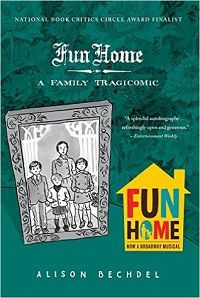 book cover of fun home