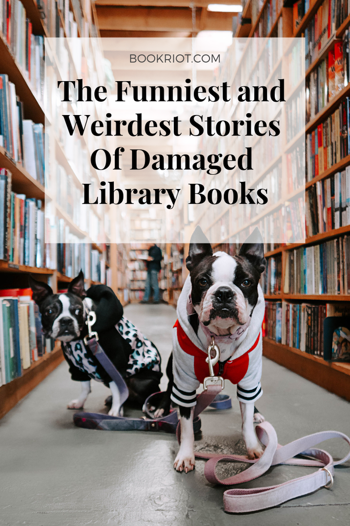 The funniest and weirdest stories of damaged library books. libraries | library humor | library stories | librarians