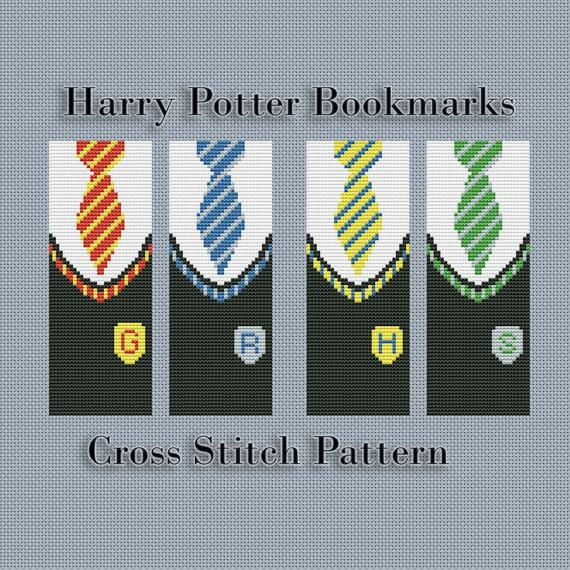 Cross Stitch Bookmark Patterns For Every Kind of Reader | Book Riot