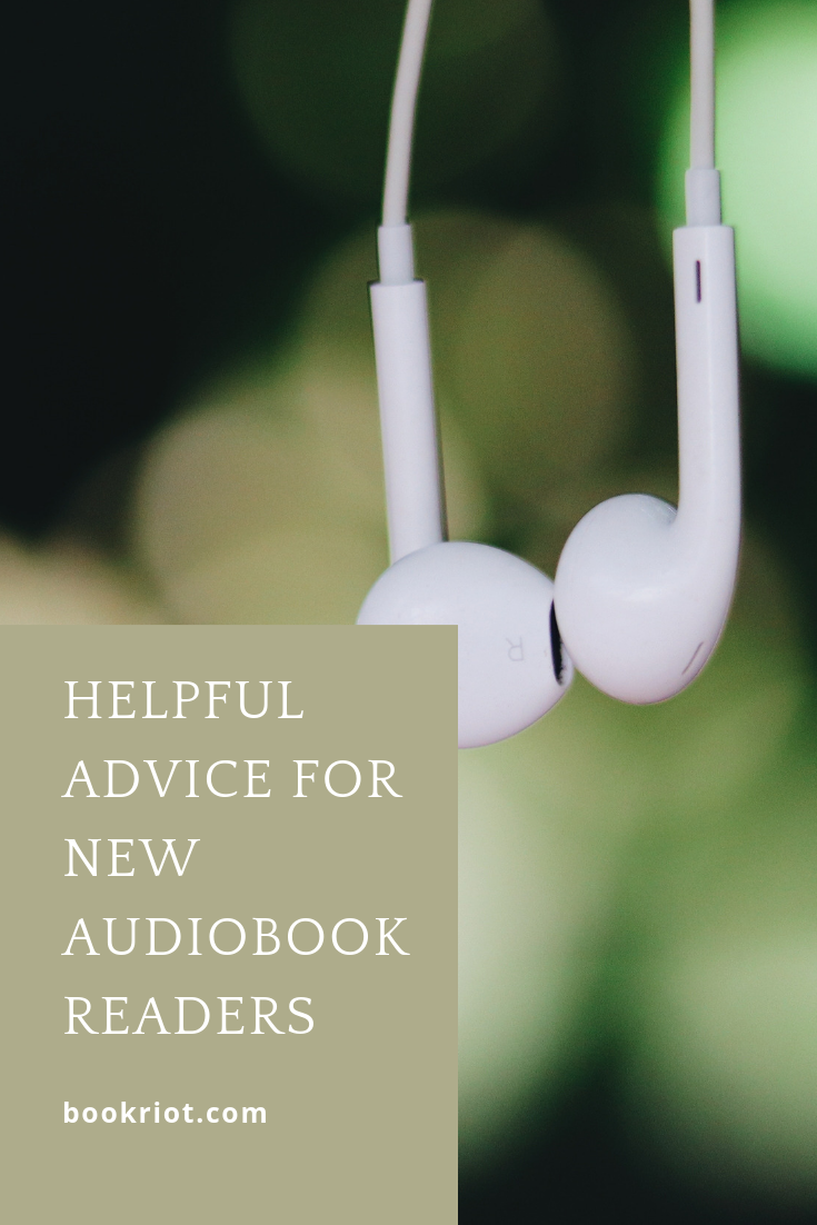 Want to dip your toe into reading audiobooks? These tips and tricks will help you out. audiobooks | audiobook advice | how to listen to audiobooks | audiobook advice for new listeners | new to audiobooks | #audiobooks