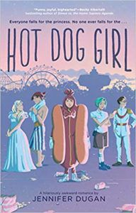 Hot Dog Girl from Millennial Pink YA Books | bookriot.com