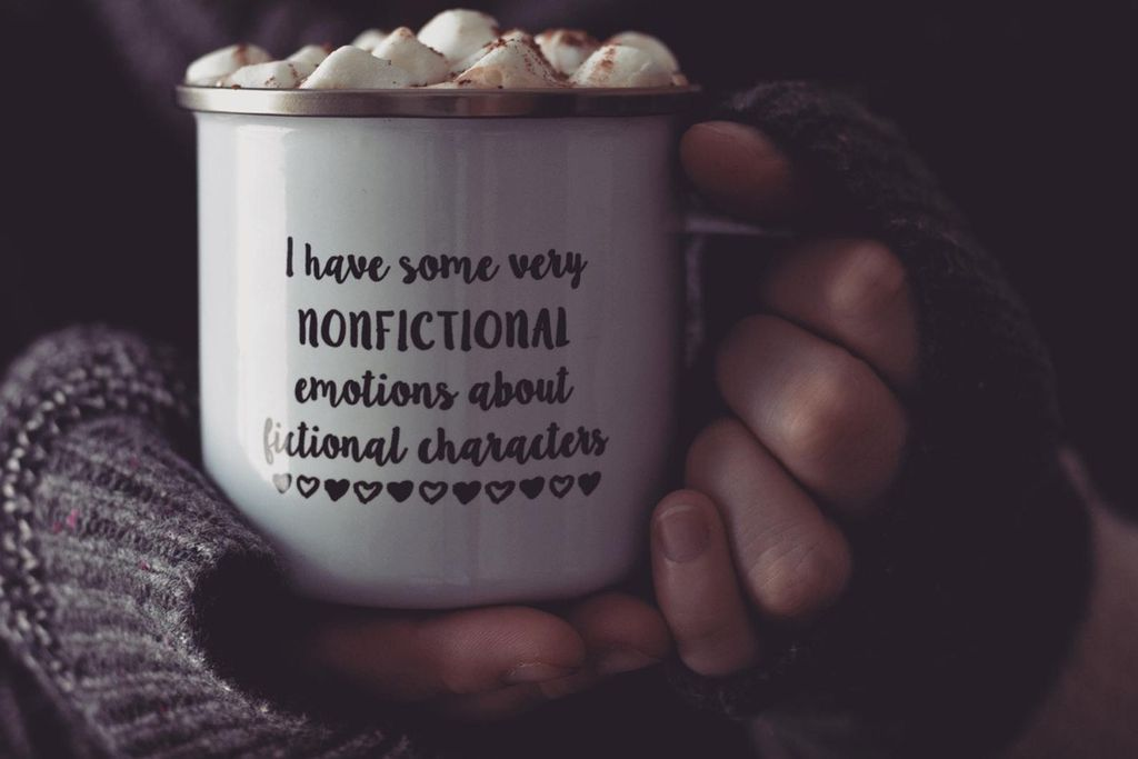 I Have Some Very Nonfictional Emotions About Fictional Characters Mug