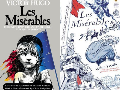 Signet Classics and 2012 Penguin Classics Edition from Best of the Best Les Misérables Covers | bookriot.com