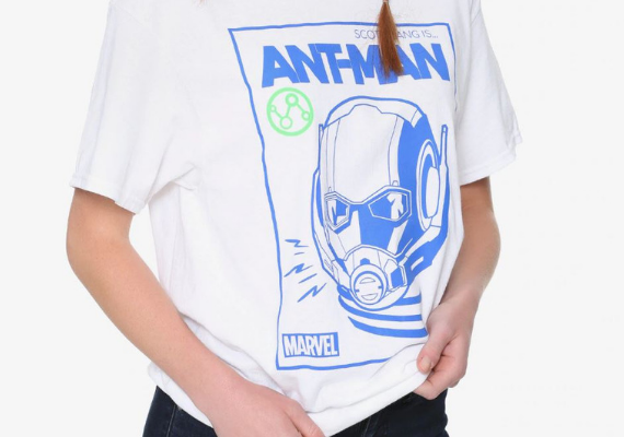 Ant-Man Shirt from Marvel Tees To Show Off Your Love for Avengers: Endgame | bookriot.com