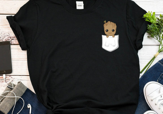 Baby Groot Shirt from Marvel Tees To Show Off Your Love for Avengers: Endgame | bookriot.com