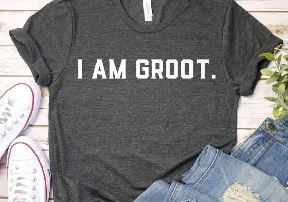 I Am Groot Shirt from Marvel Tees To Show Off Your Love for Avengers: Endgame | bookriot.com