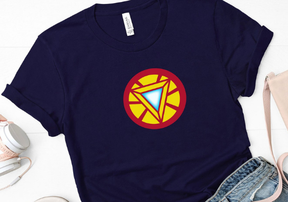 Iron Man from Marvel Tees To Show Off Your Love for Avengers: Endgame | bookriot.com