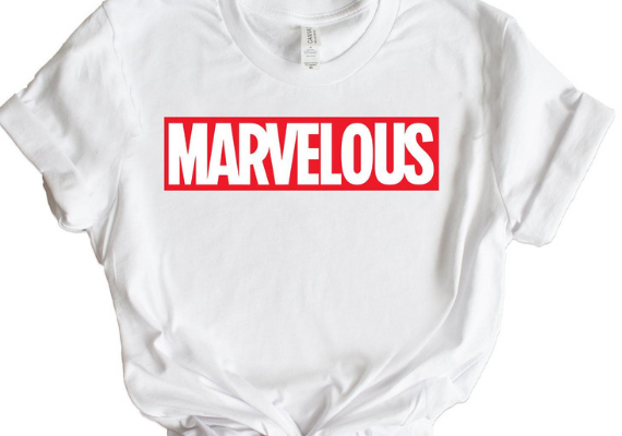 Marvelous Shirt from Marvel Tees To Show Off Your Love for Avengers: Endgame | bookriot.com