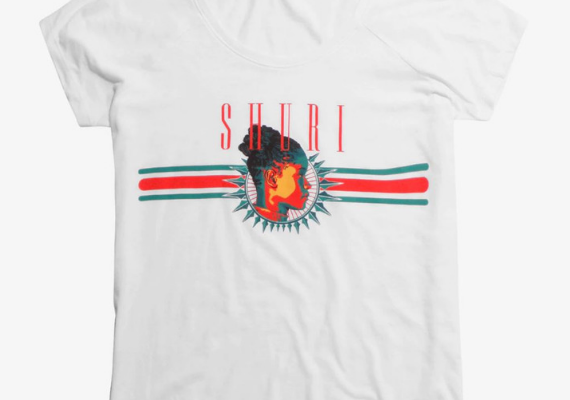 Shuri Shirt from Marvel Tees To Show Off Your Love for Avengers: Endgame | bookriot.com