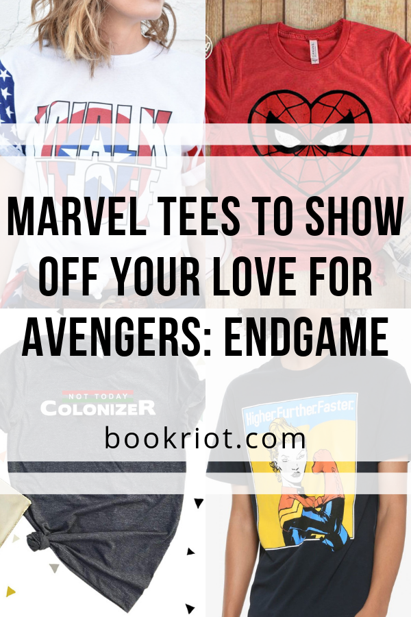 Marvel Tees To Show Off Your Love for Avengers: Endgame | bookriot.com
