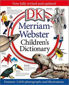 Merriam Webster Children's Dictionary Book Cover