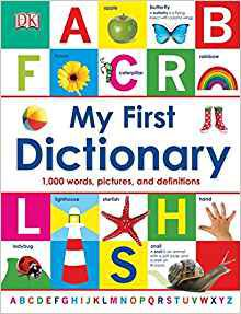 My First Dictionary book cover