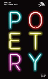 Cover of Poetry Magazine