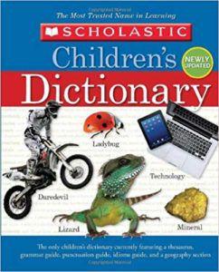 Scholastic Children's Dictionary book cover