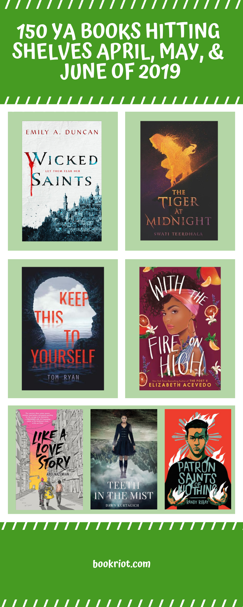 Spring 2019 YA book preview. Get to know the fiction and nonfiction hitting shelves between April and the end of June 2019. book lists | YA book lists | Upcoming YA books | young adult books | young adult fiction | young adult nonfiction | YA book preview | #YALit | great books to read | books to read spring 2019 | spring 2019 new books