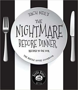 the nightmare before dinner by zach neil funny cookbooks