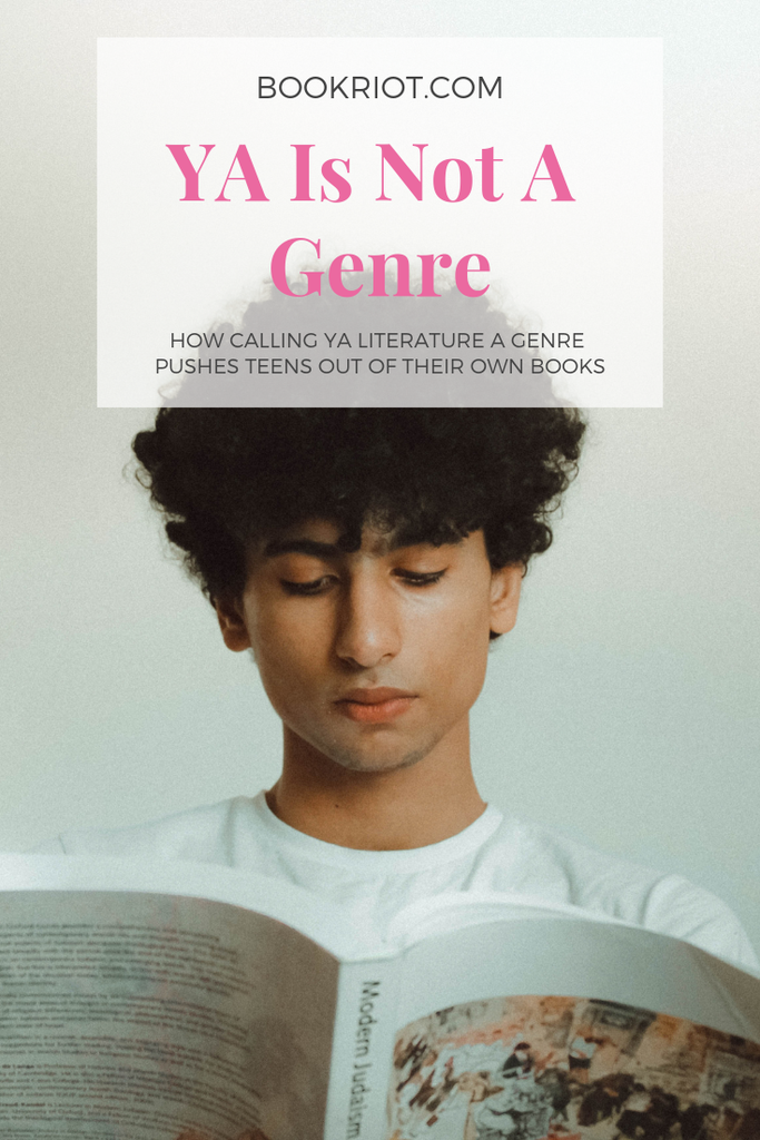 Does calling YA lit a genre impact the teens who feel pushed out? YA as a category vs. YA as a genre. books | ya lit | young adult books | young adult genre | young adult literature | teen books