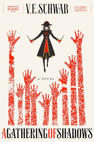 A Gathering of Shadows by V.E Schwab cover