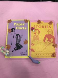 Paper Darts table at AWP 2019 Book Fair