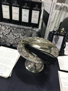 Immortal Perfumes bookmark at AWP 2019 Book Fair