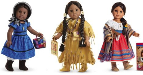 American Girl Dolls product images feature