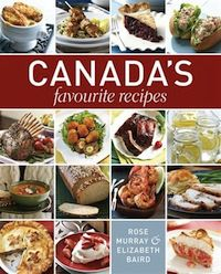 cover of Canada's Favourite Recipes by Rose Murray and Elizabeth Baird