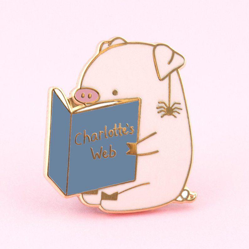 Charlotte's Web Pin
