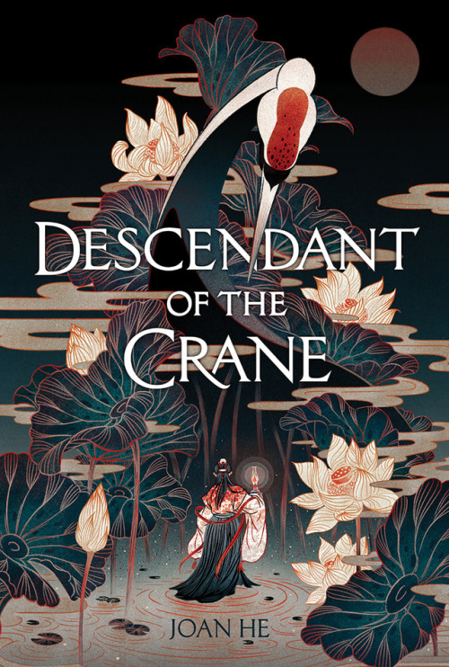 Cover of Descendant of the crane by Joan He
