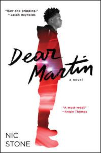 Dear Martin by Nic Stone cover