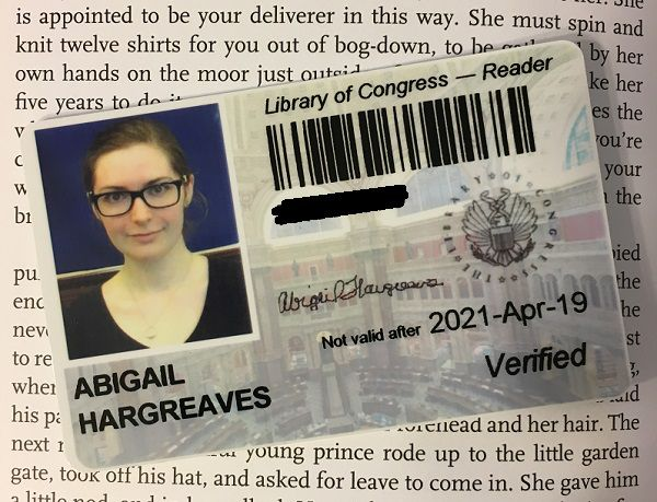 How to Get a Library of Congress Readers Card 1