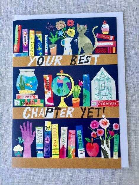 your best chapter yet birthday card