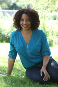 Kellye Garrett, author of the Detective by Day series; photo used with author's permission
