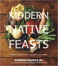 cover of Modern Native Feasts by Andrew George Jr.